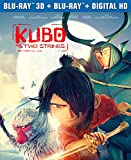 Kubo and the Two Strings  (3D Blu-ray + Blu-ray +  Digital HD)