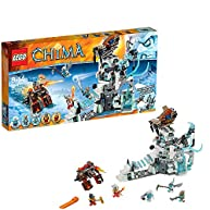 Lego Legends of Chima Sir Fangar's Ice Fortress