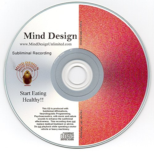 Start Eating Healthy! Subliminal CD - Healthy Eating Will Become Easier For You!!