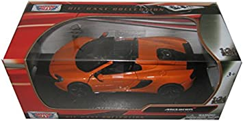 McLaren 650S Sports Car 1//36 Model Car Diecast Toy Vehicle Collection Gift Blue
