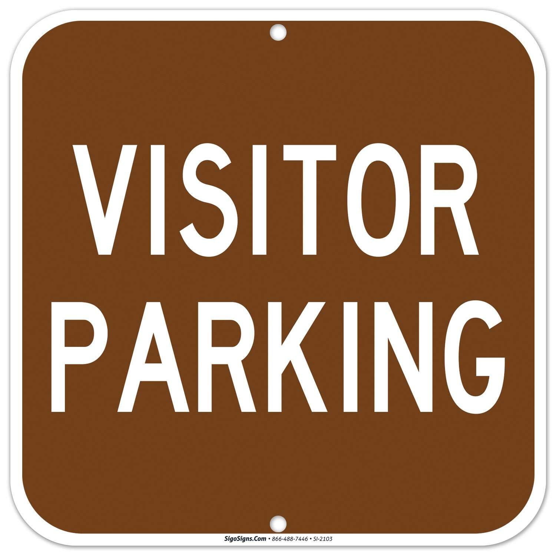 Amazon.com: Letrero de estacionamiento para visitantes – Los ...