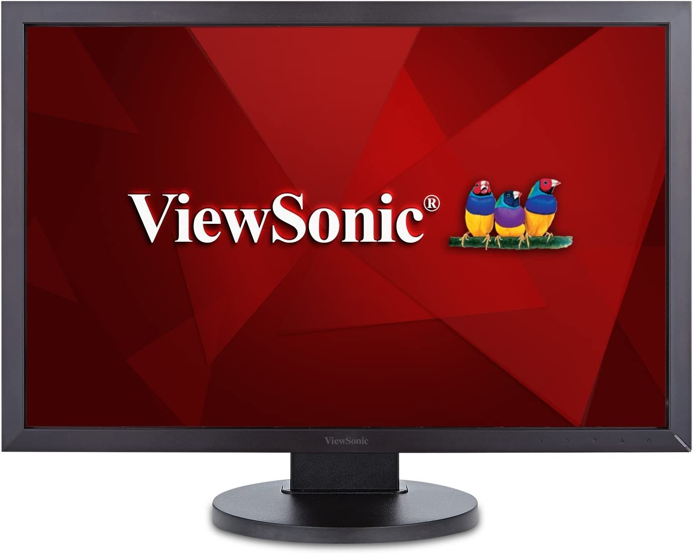 ViewSonic VG9SM 9 Inch IPS 9p Ergonomic Monitor with DisplayPort DVI  and VGA for Home and Office, Black