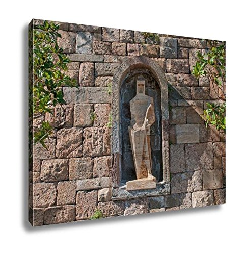 Ashley Canvas, Saint George By Picasso Montserrat Monastery Spain, Home Decoration Office, Ready to Hang, 20x25, AG6303559 by Ashley Canvas