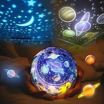 Luz de Proyector de Estrellas Atmósfera Romántica,Giratoria ...