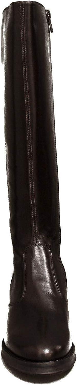 Nero GiardiniBoot avec la Couleur Moyenne du Talon de l\'article Brun foncé A9 09600 D 300 Dark Brown