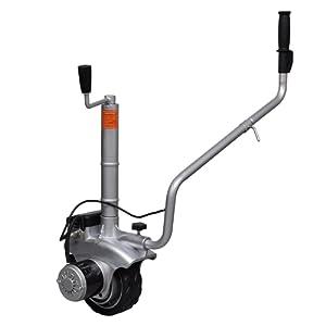 vidaXL Roue jockey motorisée en aluminium 12 V 350 W