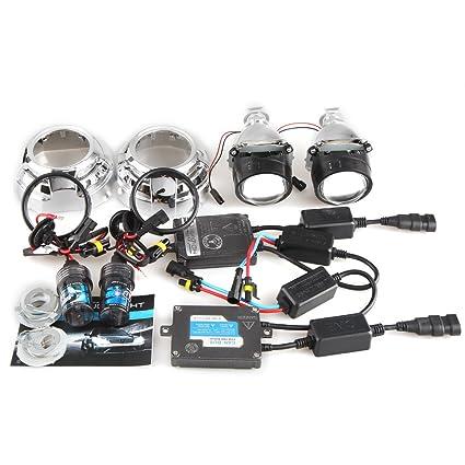 Car Rover? 2.5 Mini Bixenon H1 Len Proyector con 3