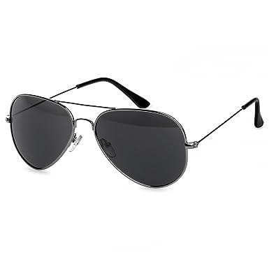 Caspar SG032 PREMIUM Gafas de Sol Piloto Unisex de Espejo ...
