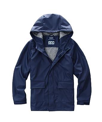 Amazon.com  M2C Men s Hooded Cotton Lined Waterproof Rain Jacket ... cb4562a61
