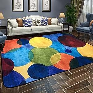 Alfombrillas alfombras sal n estilo europeo simple moderna - Alfombras dormitorio amazon ...