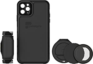 PolarPro LiteChaser Pro Photography Kit for iPhone 11 Pro Max Case + Handle + PolarFilter, IPHN11-PRO-MAX-PHTO