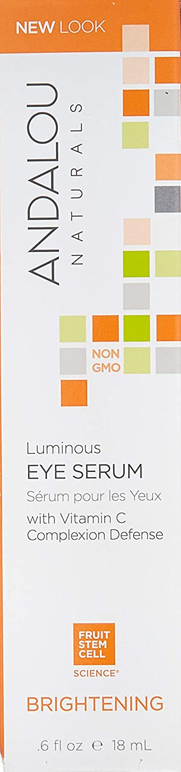 Andalou Naturals Luminous Eye Serum - 0.6 Oz: Beauty