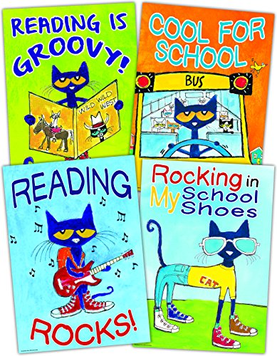 Teacher Created Resources Pete The Cat Positive Poster Pack (TCR6656) -