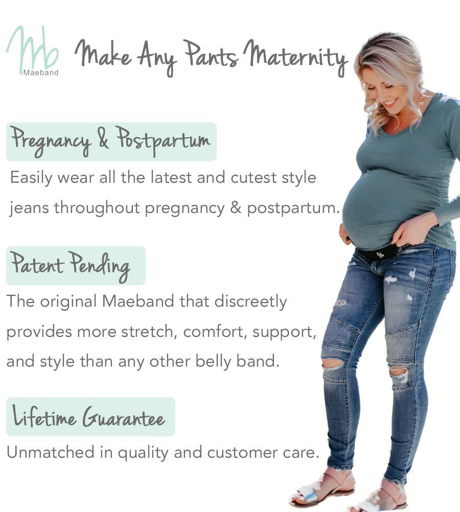 Waist Extenders Maternity Pregnancy Band Belt Elastic Jeans Trousers Free P/&P