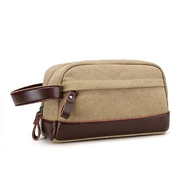 52a6bceba Young & Ming - Neceser de viaje Bolsas de aseo impermeable portátil Bolsa  de mano compacta