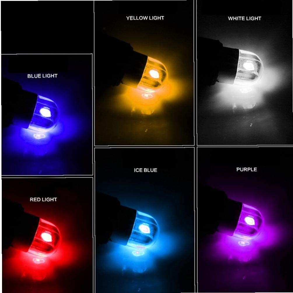 6Pcs T10 LED Bulb Super Stable Bright Bulb For Car Replacement Interior Lights Clearance Wedge Dome Trunk Dashboard Bulb License Plate Light Lamp DC 12V Purple Light