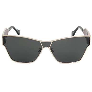 5e4bfc64d078 Sunglasses Balenciaga BA 0095 33A gold/other/smoke at Amazon Men's ...