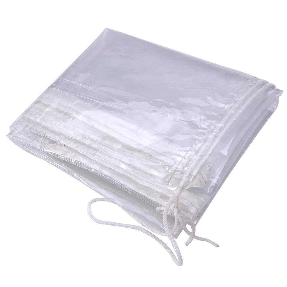 STW -Outdoor Waterproof PVC Transparent Umbrella Protective Canopy Cover Bag fit 5'-10' ft