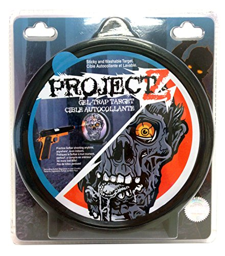 Project Z Zombie Sticky Target Washable Gel Trap SoftAir Target (Gel Trap Target)