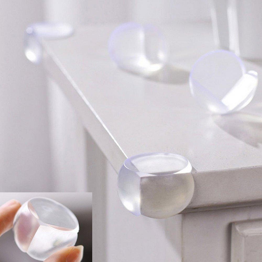Amazon.com : Veewon® 12 Corner Protector Ball Shape Baby Child Safety  Cushion Table Edge Desk Guard : Baby