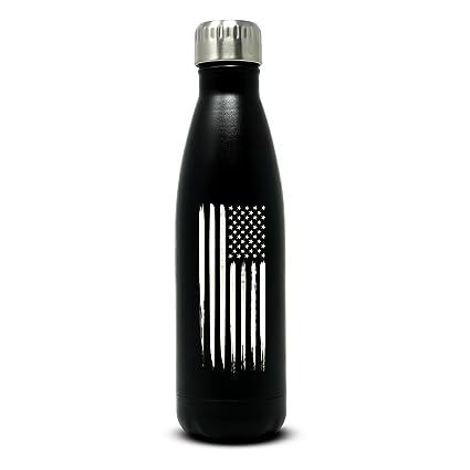 Amazon.com: Militar tienda de regalos 17oz bandera americana ...