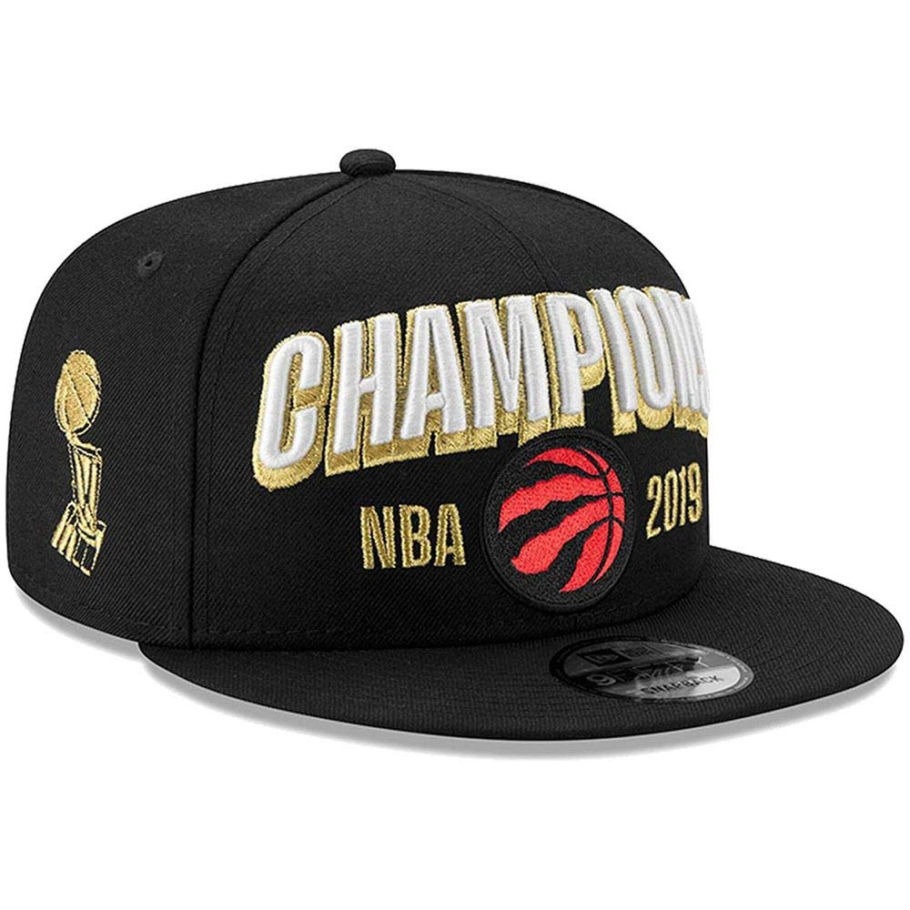 88dd095d Amazon.com : New Era Toronto Raptors 2019 NBA Finals Champions Locker Room 9FIFTY  Snapback Adjustable Hat - Black : Sports & Outdoors