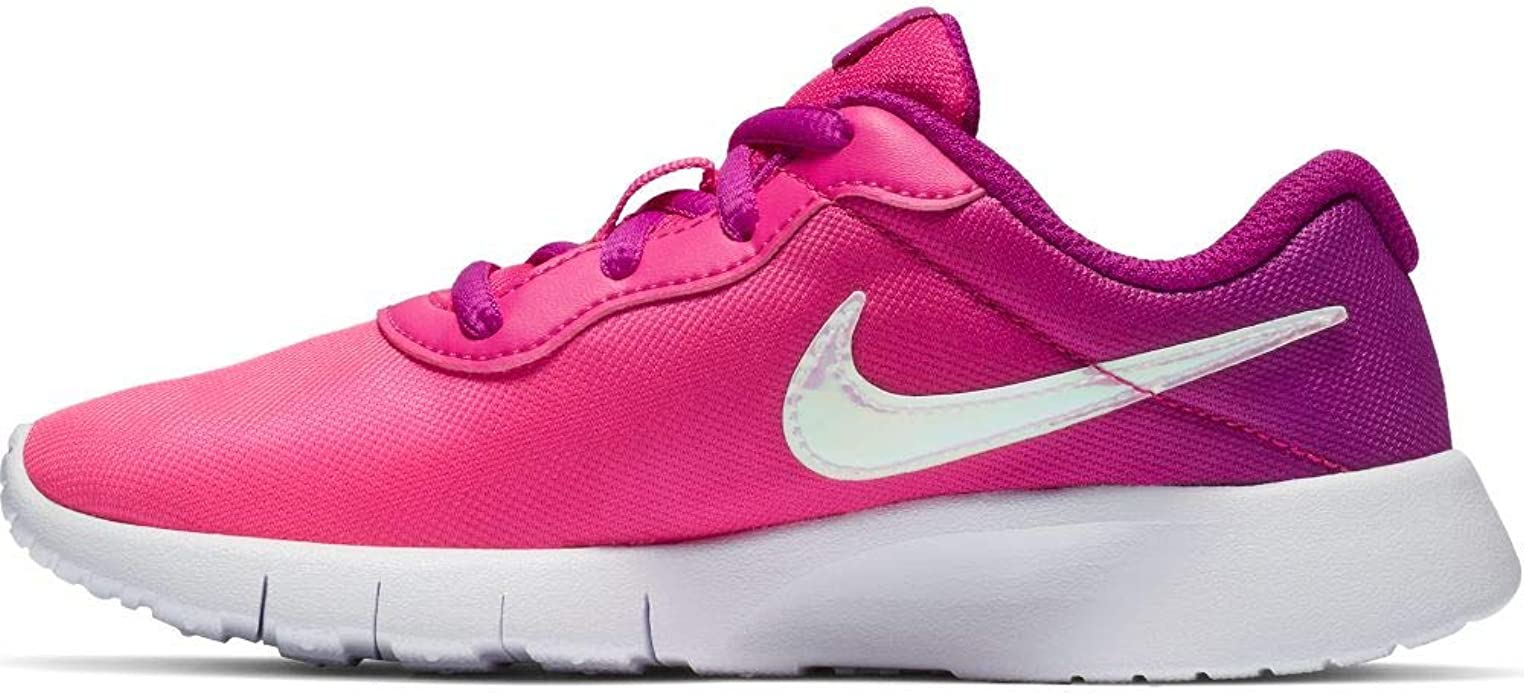 Nike Flex Experience 4 Black//Silver//Pink Toddler Girl/'s Running Shoes-Size 5 //6
