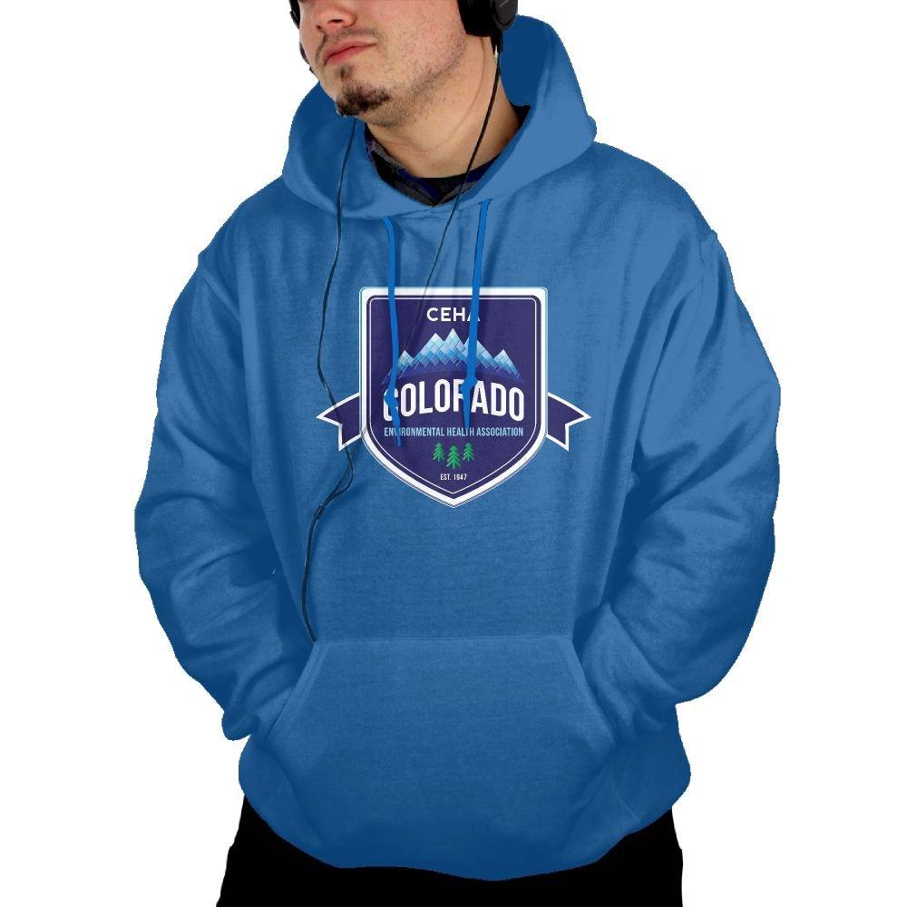 TAVJCFW Fashion Personalization Mens Colorado Hoodie Black Winter