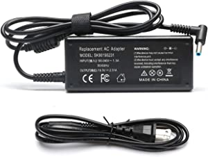 Tinkon 45W AC Laptop Adapter Power Cord Supply for Hp Stream 11 13 14 Split 13 Pavilion X360 M3 M1 M6 Touchsmart 15 13 11 M6 250 G3 255 G4 G5 355 G2 455 G3