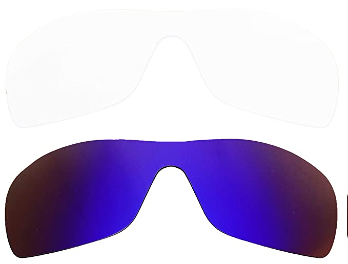 Amazon.com: Gafas de sol de repuesto BATWOLF transparente y ...