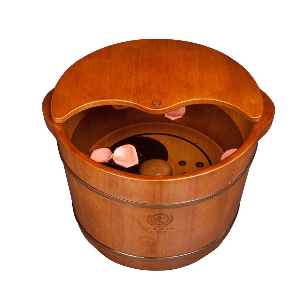 ZHANGRONG- フットバスバレル フットバス 足浴槽 フットバスバレル マグネットマッサージ フットバス 桶 家庭 B07DYND88Q