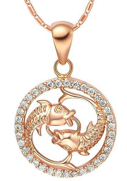 Rose gold herren halskette