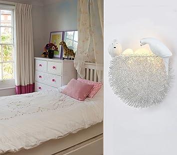 Lily\'s-uk Love Vogel \'s Nest LED Augenschutz Wand Kinder ...