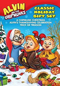 Alvin And The Chipmunks: Holiday Gift Set (A Chipmunk Christmas / Alvin's Thanksgiving Celebration / Trick Or Treason)