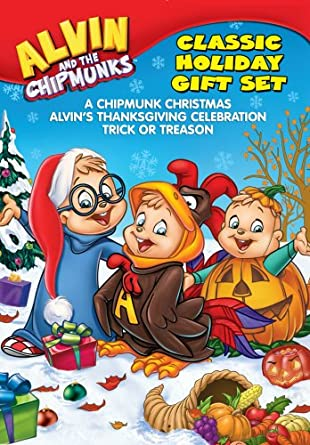 Alvin And The Chipmunks Christmas.Amazon Com Alvin And The Chipmunks Holiday Gift Set A
