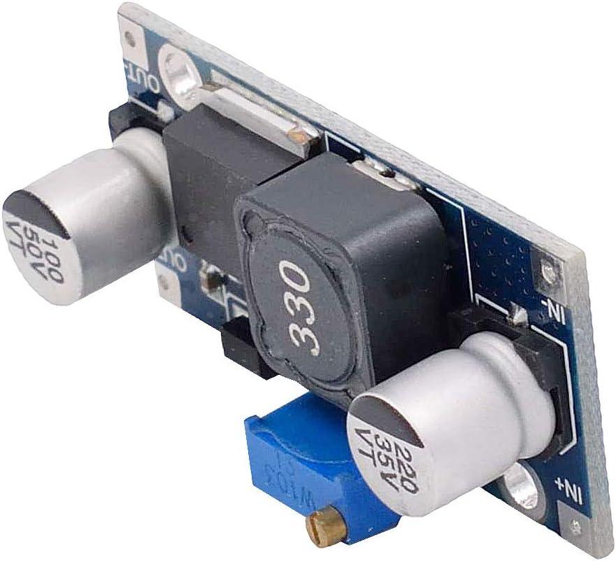 Valefod XL6009 Module dalimentation DC to DC Boost Transformateur de Tension 3,0-30V /à 5-35V Paquet de 8