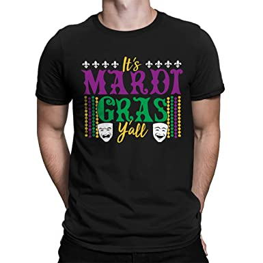 323114911b8af0 Amazon.com: SpiritForged Apparel It's Mardi Gras Y'all Men's T-Shirt ...