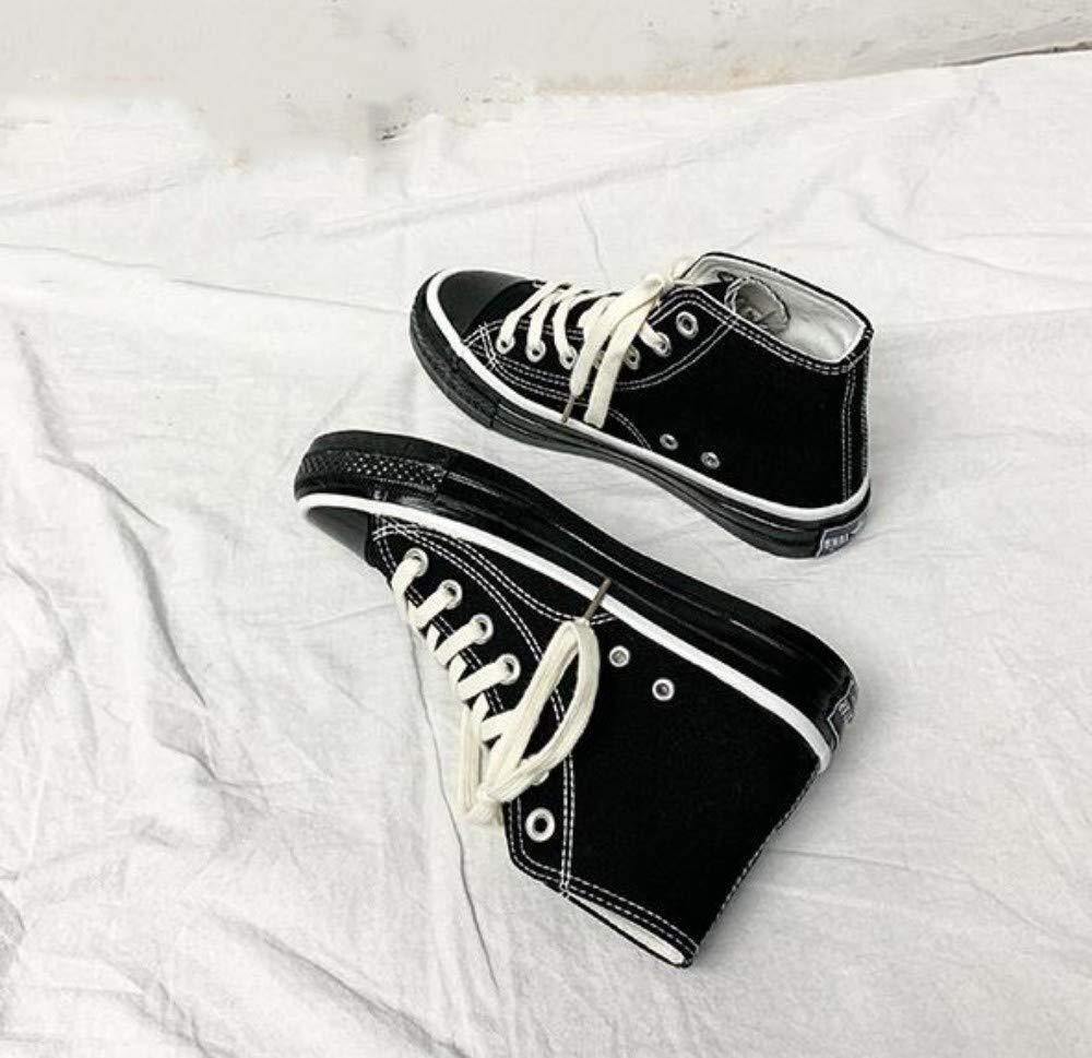 XL_nsxiezi Retro Schuhe der schwarzen Segeltuchschuhe der der der Damen B07PVRL691 Sport- & Outdoorschuhe Sport entzündet das Leben d2345c