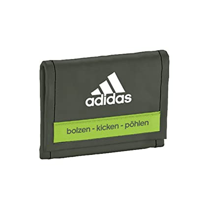 adidas DFB Wallet Cartera, Base Green S15, 1 x 10.5 x 12.5 cm,