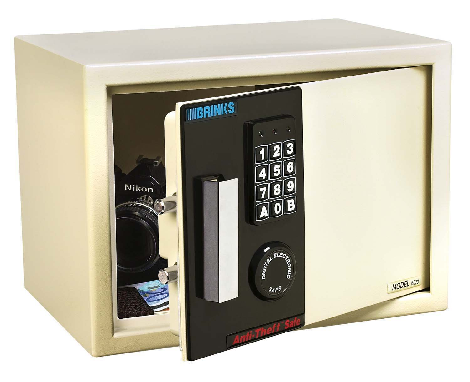 Brinks home security anti theft safe model 5074 home box for Brinks home security