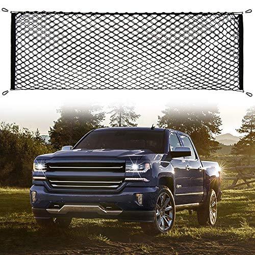 - AndyGo Cargo Net Truck Bed Envelope Style Trunk Cargo Organizer Fit Chevy Silverado Colorado GMC Sierra