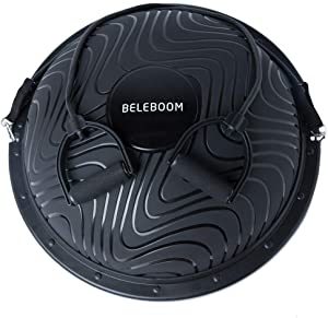 BELEBOOM Balance Trainer Ball for Exercise Elite Yoga Half Ball Balance Training Equipment Home Office Gym Workout Superior Balance Balls