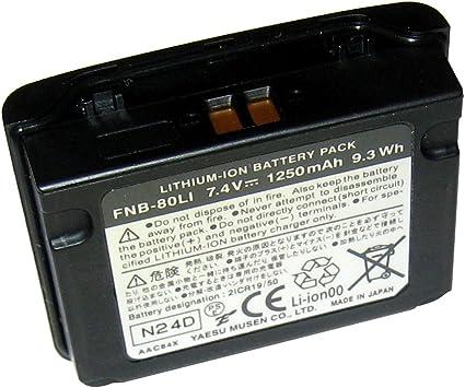 Bater/ía para Standard Horizon Modelo FNB-83