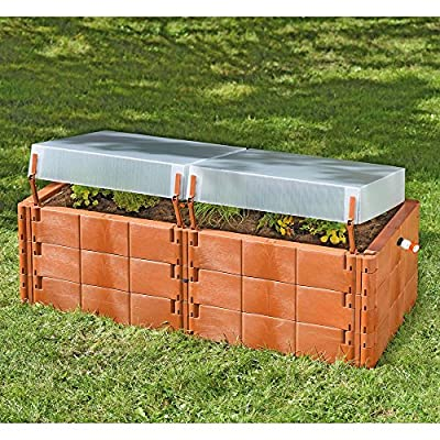 Exaco Raised Polyethylene Garden Bed by Exaco Trading Co