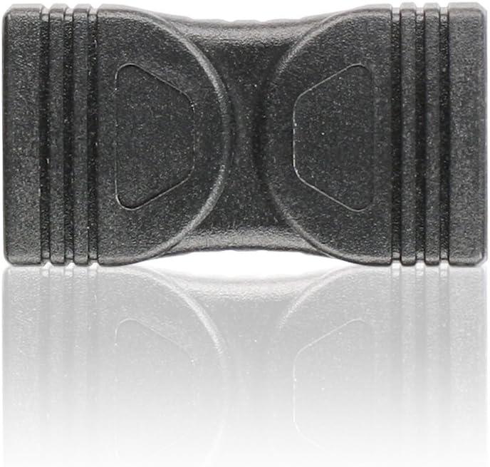 IOGEAR HDMI Audio//Video Coupler GHDCPLRW6,Black