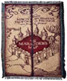 "Harry Potter, Marauder's Map Woven Tapestry Throw, 48"" x 60"""