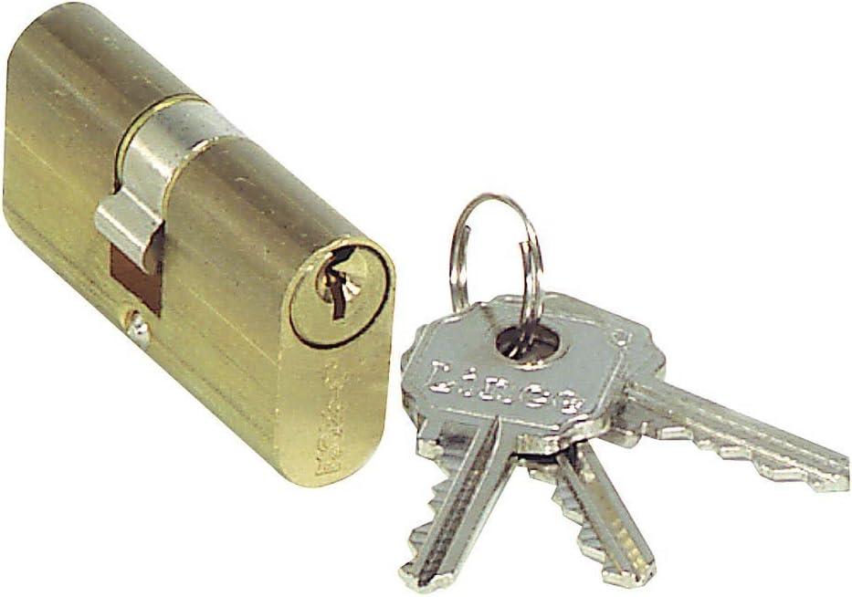 LINCE 3017800 Cilindro Ovalado Latonado 0500/54 mm