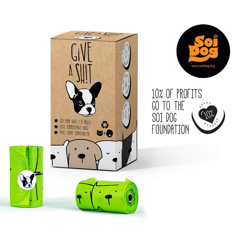 Amazon.com: Bolsas de caca para perro compostables | 10% a ...