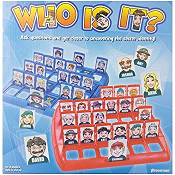 Who Is It? -- Well-Known Classic Kids Board Game