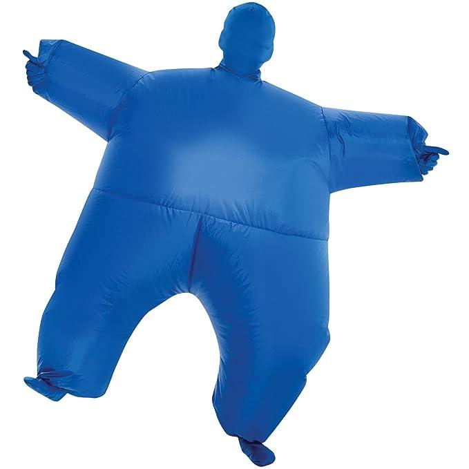 Amazon.com: MegaMorph - Traje de grasa inflable para adultos ...